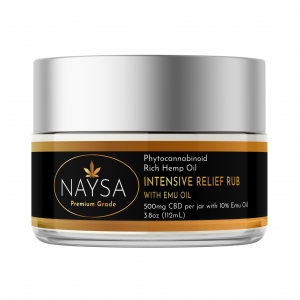 Naysa Intensive Relief Rub with Emu Oil 500mg