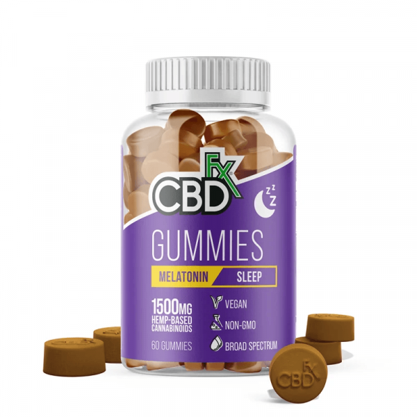 CBDfx Gummies Melatonin 1500mg