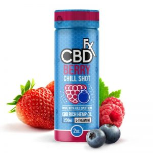 CBDfx Berry CBD Chill Shot – 20mg