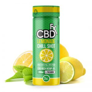 CBDfx Lemonade CBD Chill Shot – 20mg