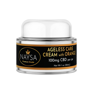 Naysa Ageless Care Cream with Orange with 100mg CBD