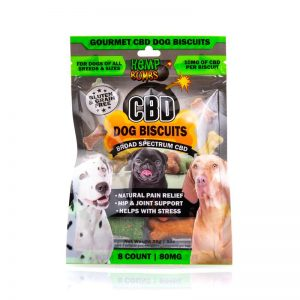 Hemp Bombs CBD Dog Bisuits 8-Count