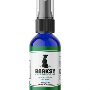 Barksy 250mg CBD Pet Spray with Chamomile