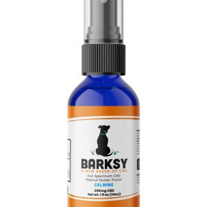Barksy 250mg CBD Pet Spray Peanut Butter Flavored with Chamomile