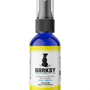 Barksy  500mg Pet Spray With Turmeric