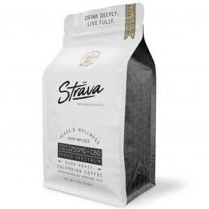 Strava 250mg CBD Coffee – Dark Roast