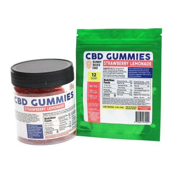 Sunny Skies CBD - CBD Isolate Gummies