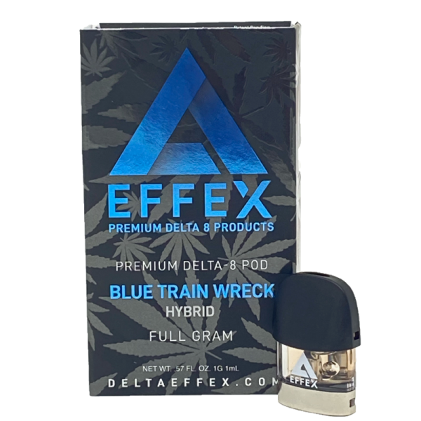 Effex Blue Train Wreck Premium Delta 8 Pod